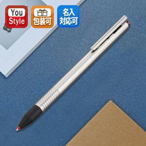 ロゴ 3色ボールペン L405 [ステンレス]