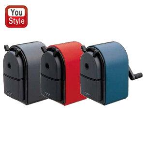 三菱鉛筆 MITSUBISHI PENCIL ユニー(uni) 鉛筆削器 鉛筆削り 中型手動シャープナー 赤/黒/青 KH20-15/KH20-24/KH20-33