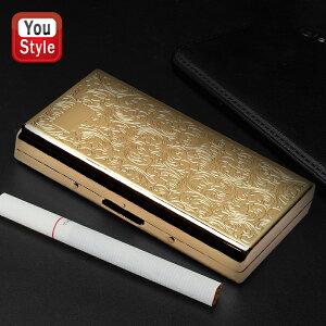 坪田パール TSUBOTA PEARL カジュアルメタルケース ゴールドアラベスク 喫煙具 1-59129-41
