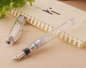 Sailor SAILOR professional gear skeleton (transparent) silver fountain pen gold 21 11-9237 MF medium SL-11-9237-300