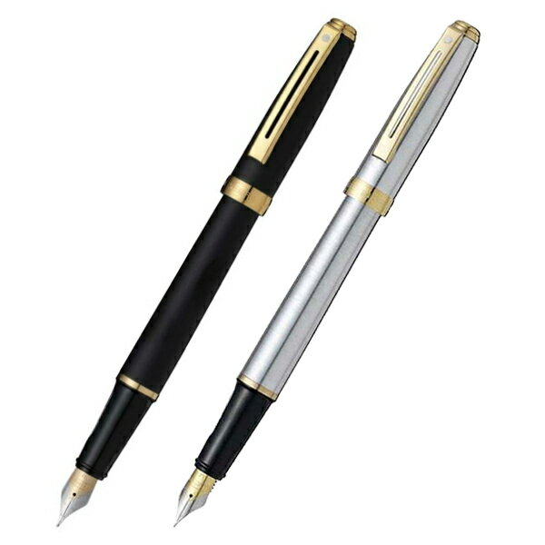 Schaefer SHEAFFER Prelude PRELUDE Matt Black Fountain Pen Stainless Steel  (size F) SF346PN
