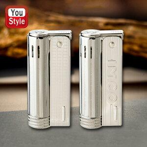 イムコ IMCO イムコ ジュニア/IMCO JUNIOR オイル ライター スライド式 61392 61393 ロゴ付 シルバー メンズ 豪華 喫煙具 柘製作所 tsuge