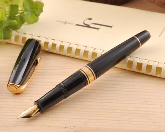 ★ Waterman WATERMAN Charleston fountain pen ebony black GT (size F) WMS2233112