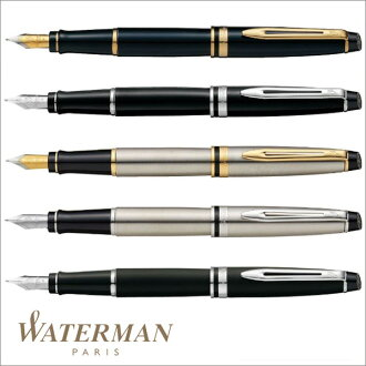 Waterman WATERMAN expert essential fountain pen matte black CT (size F) WMS2243122