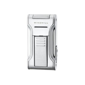 Windmill WINDMILL KATANA 2 Katana 2 flat frame / type piezoelectric gas lighter chrome W11-0001