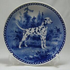 【送料無料】犬の絵皿・ダルメシアン・#7032 (ドッグプレート)
