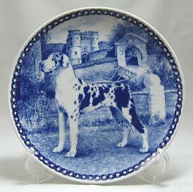 【送料無料】犬の絵皿・グレート・デン・#7233 (ドッグプレート)