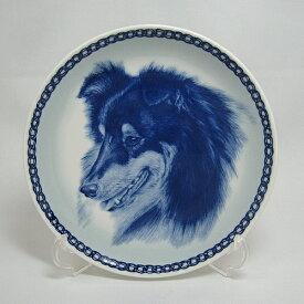 【送料無料】犬の絵皿・シェットランド・シープドッグ・#7575 (ドッグプレート)
