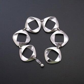 George Jensen bracelet # 190 by Henning Koppel