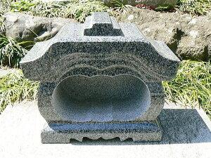 【お墓・墓石・香炉】 グレー御影石宮型香炉【送料無料】 02P27May16