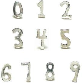 30%OFF!!バラ売りシルバーピアス シルバー925 ラッキーナンバーはどれですか?シルバーの数字スタッドピアス a442-a451 シルバー925 silver925 シルバーアクセサリー レディースピアス メンズピアス