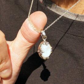 1点物 天然石 シルバー925 ペンダントヘッド ペンダントトップ ムーンストーン フレアクロス silver925 シルバーアクセサリー シルバー製 メンズ レディース