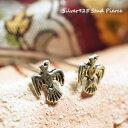 【選べる3点福袋★対象商品!!】シルバーピアス 大空を飛びまわる鳥のエスニックな雰囲...