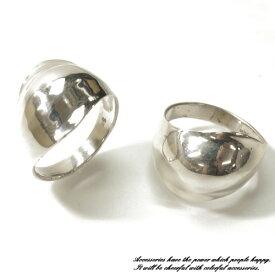 シンプル太目のゴツい雰囲気のシルバーリング シルバー925 silver925 シルバーアクセサリー 指輪 メンズ レディース