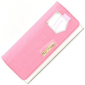 サマンサタバサプチチョイス 二つ折り長財布 ピンク ホワイト 新品 未使用 ロングウォレット バイカラー ポケット レディース Samantha Thavasa Petit Choice