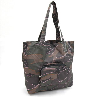 Coach tote bag Wilde camouflage print F31488 green Martina irone new article-free eco-bag shopping bag camouflage pattern green folding carrying COACH