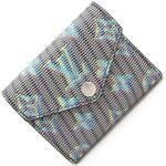 ルイヴィトン三つ折り財布モノグラムLVポップポルトフォイユゾエM68665中古コンパクトウォレットメンズレディースLOUISVUITTON