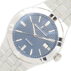 モーリスラクロア メンズウォッチ アイコン AI6008-SS002-430-1 ブルーダイアル バーインデックス ステンレススチール オートマ 中古 時計 腕時計 男性 紳士 MAURICE LACROIX