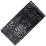 ベルルッティ二つ折り長財布カリグラフィサンタルブラックレザー中古ロングウォレットメンズBerluti