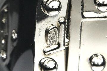 シャネルバングルブラック10A2010年モデル中古アクセサリーブレスレットココマーククリアストーンレディースCHANEL