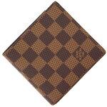 ルイヴィトン二つ折り財布ダミエポルトフォイユマルコN61675新品未使用コンパクトウォレットレディースメンズLOUISVUITTON