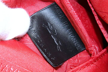 ロンシャン2WAYハンドバッグルプリアージュキュイール1512755ブラックレザー新品未使用ショルダーバッグ肩掛けパッチワークアップリケワッペンレディースLONGCHAMP