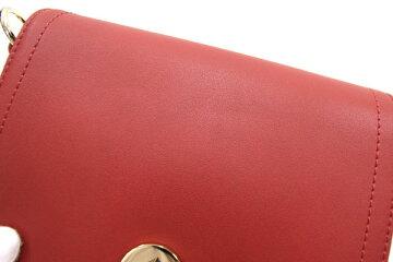 \ロンシャンショルダーバッグキャヴァルケイド1395HNAレッドレザー新品未使用レディース肩掛けLONGCHAMP