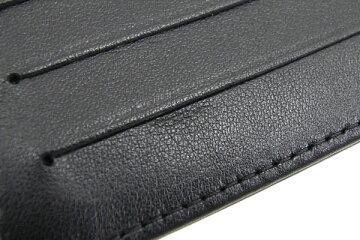 シャネルラウンドファスナー財布メイクアップラインA47662ブラックホワイトパテントレザー中古レディースココマークパレットエナメルCHANEL