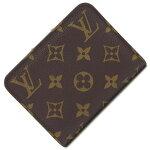ルイヴィトン二つ折り財布モノグラムポルトモネアンソリットM60192中古レディースコインケースカードケースLOUISVUITTON