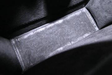ティファニーショルダーバッグブラックリザード中古肩掛け斜め掛けトカゲ革光沢あり艶ありヴィンテージオールドレアクラシックレトロレディースTIFFANY&Co