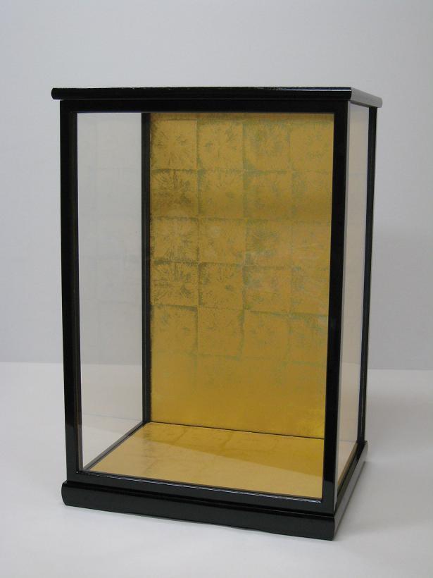 人形ケース(ガラスケース)30×24×50(ケース内寸)戸付 博多人形 日本人形 新品