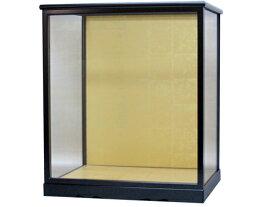 人形ケース 間口30×奥行23×高さ30(黒塗) 博多人形 ガラス 戸付