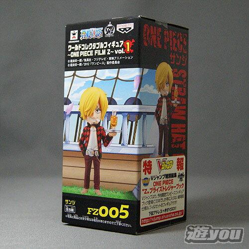 ワンピース ワールドコレクタブルフィギュア ONE PIECE FILM Z vol.1 FZ005:サンジ バンプレスト プライズ