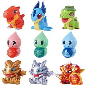 パズル&ドラゴンズ パズドラコレクション はじまりのダンジョン ノーマル 全9種セット メガハウス BOXフィギュア