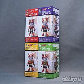 仮面ライダーシリーズ ワールドコレクタブルフィギュア-仮面ライダードライブ登場- 4種セット バンプレスト プライズ