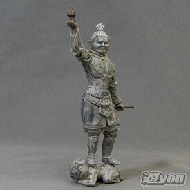 和の心 仏像コレクション2 3:多聞天像(ノーマルタイプ) エポック社 ガチャポン ガチャガチャ ガシャポン