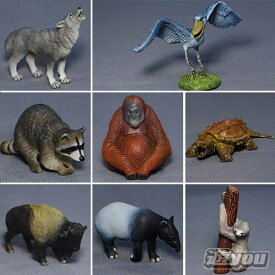 ミニチュアプラネット Vol.11 集めて広がる動物フィギュアの世界 全8種セット エイコー プライズ
