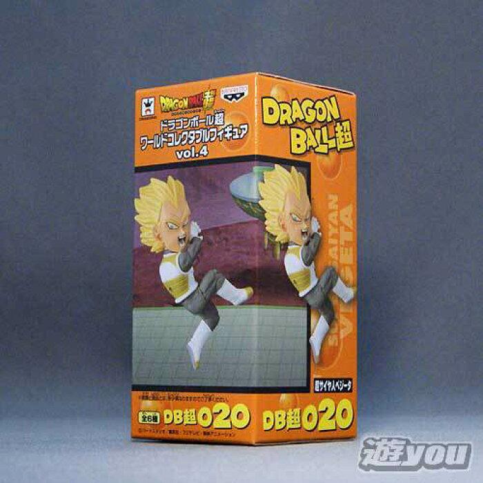 ドラゴンボール超 ワールドコレクタブルフィギュアvol.4 DB超020:超サイヤ人ベジータ バンプレスト プライズ