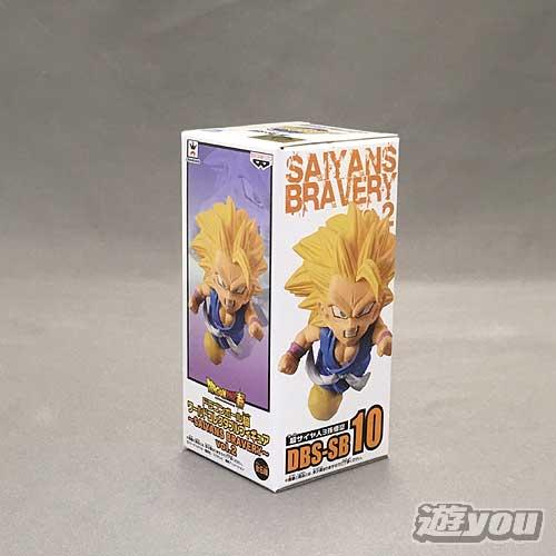 ドラゴンボール超 ワールドコレクタブルフィギュア SAIYANS BRAVERY vol.2 4:DBS-SB10:超サイヤ人3孫悟空 バンプレスト プライズ