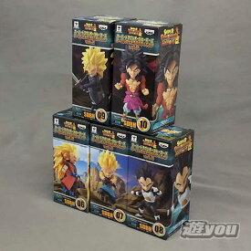 スーパードラゴンボールヒーローズ ワールドコレクタブルフィギュア vol.2 全5種セット バンプレスト プライズ