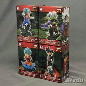 ドラゴンボール超 ワールドコレクタブル ジオラマ vol.1 全4種セット バンプレスト プライズ