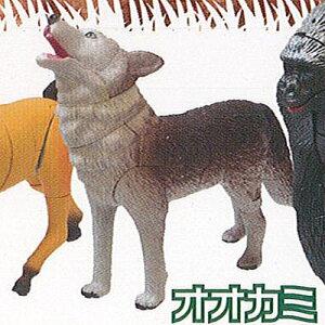 ワイルド アニマル 3D フィギュア パズル 3:オオカミ 動物フィギュア エール ガチャポン ガチャガチャ ガシャポン