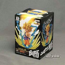 ドラゴンボール超 ワールドコレクタブルフィギュア BURST 1:BURST01:スーパーサイヤ人 孫悟空 バンプレスト プライズ