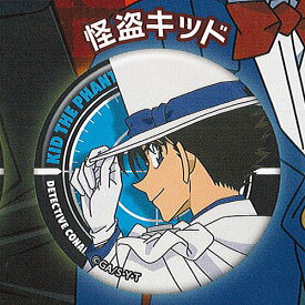 名探偵コナン カプセル 蓄光 カンバッジ 7:怪盗キッド ブシロード ガチャポン ガチャガチャ ガシャポン