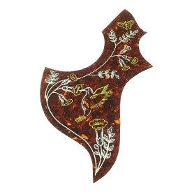 【YJB PARTS】アコギ用ピックガード ハミングバード(Hummingbird)型 0.5mm厚【メール便対応】[ar1]