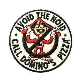 ワッペン #525 / AVOID THE NOID DOMINO'S PIZZA ドミノピザ アメリカン雑貨