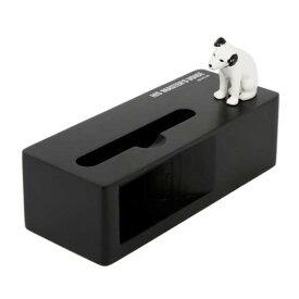 ビクター ニッパー スマホ スタンド&スピーカー 充電コード仕様 (ブラック) VICTOR NIPPER 正規ライセンス商品