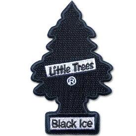 リトルツリー Little Tree ワッペン / ブラックアイス Black Ice アメリカン雑貨