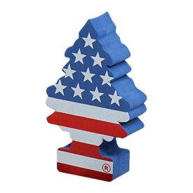 Little Tree リトルツリー アンテナトッパー [スターズ & ストライプス] アメリカン雑貨