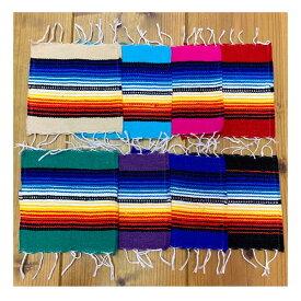 サラペ コースター 4枚セット メキシカン アメリカン雑貨